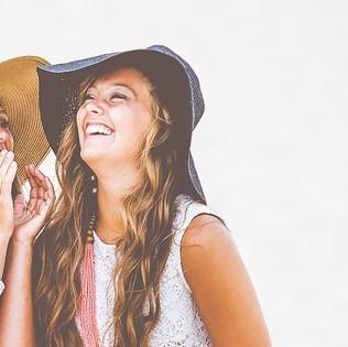 笑顔な女性